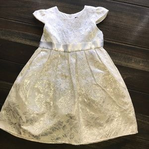Other - Toddler Girl Silver Dress